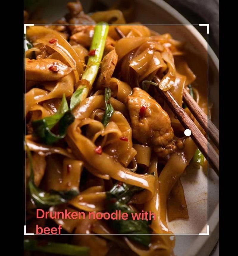 6. Drunken Noodle