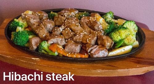 2. Hibachi Beef