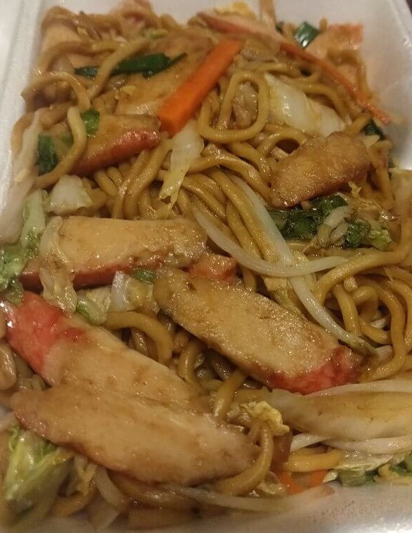 37. Crab Meat Lo Mein Image
