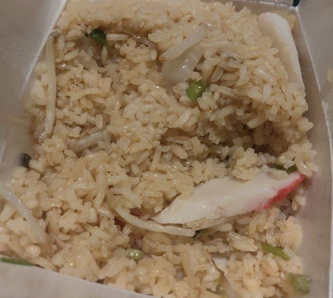 27. Crab Meat Fried Rice Image