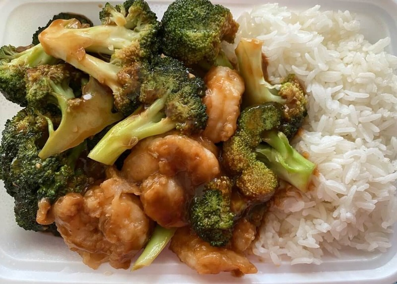 L 7. Shrimp w. Broccoli Image