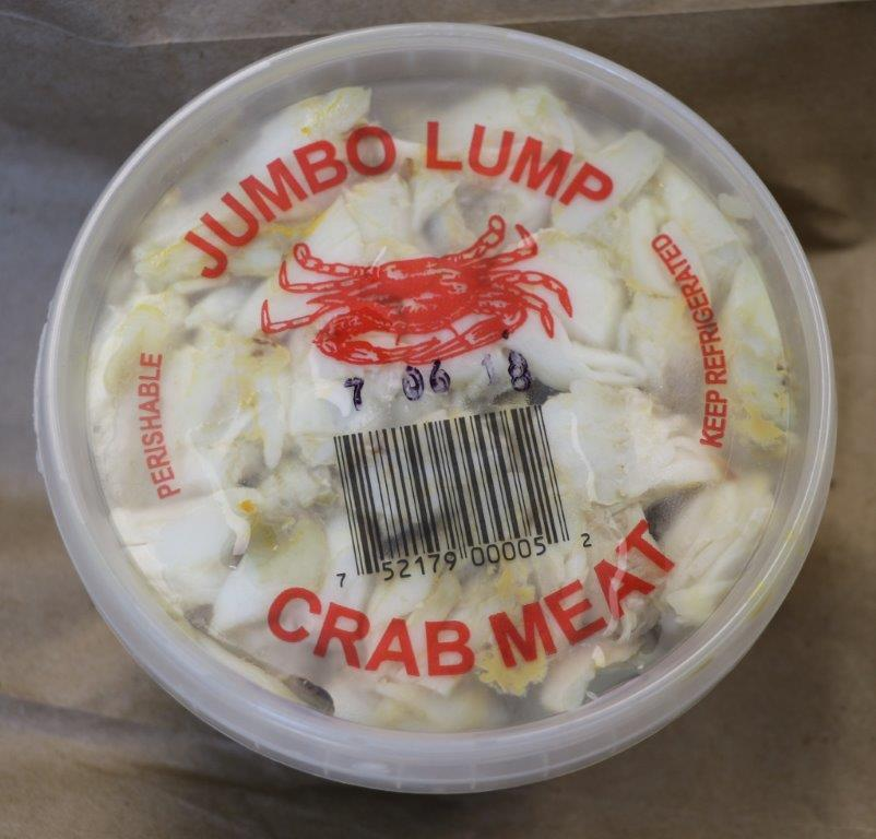 Fresh Jumbo Lump Crabmeat Image
