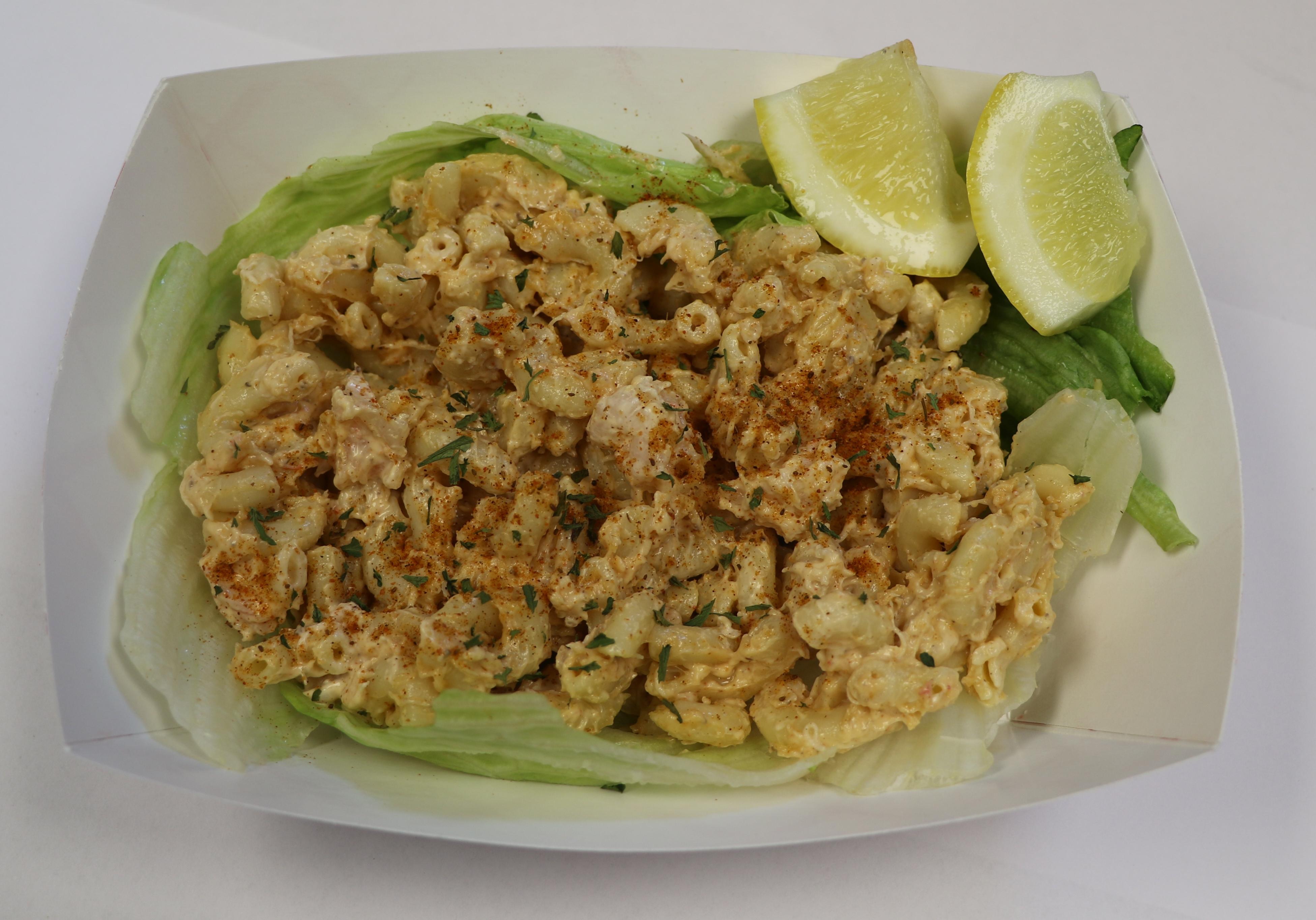 Macaroni Salad with Shrimp & Crabmeat Image
