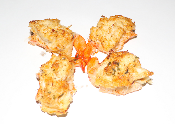 Stuffed Shrimp with Crab Imperial Image