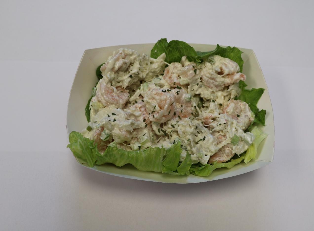 Shrimp Lump Crabmeat Salad