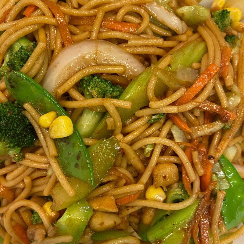 Vegetable Lo Mein(蔬菜捞面)