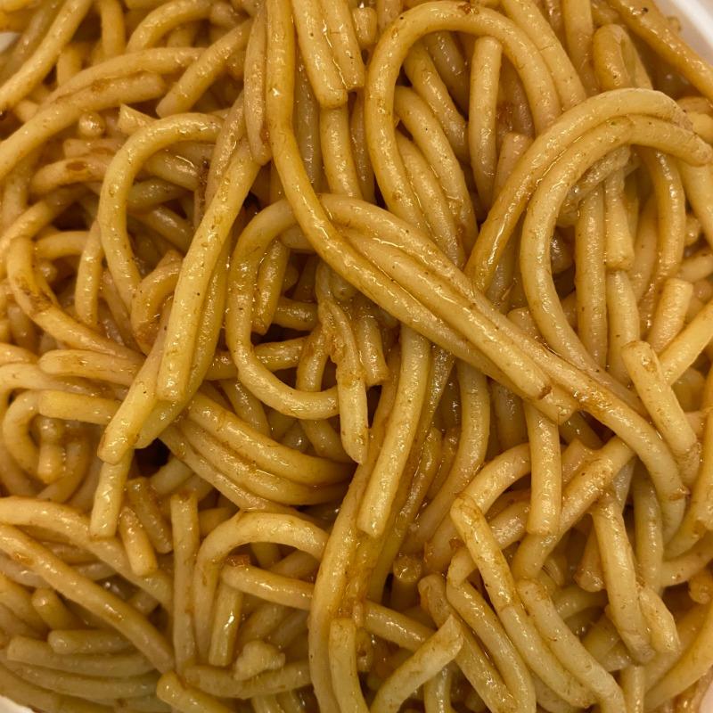 Plain Lo Mein(酱油捞面)