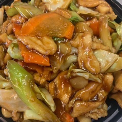 Chicken in Garlic Sauce(大蒜鸡)