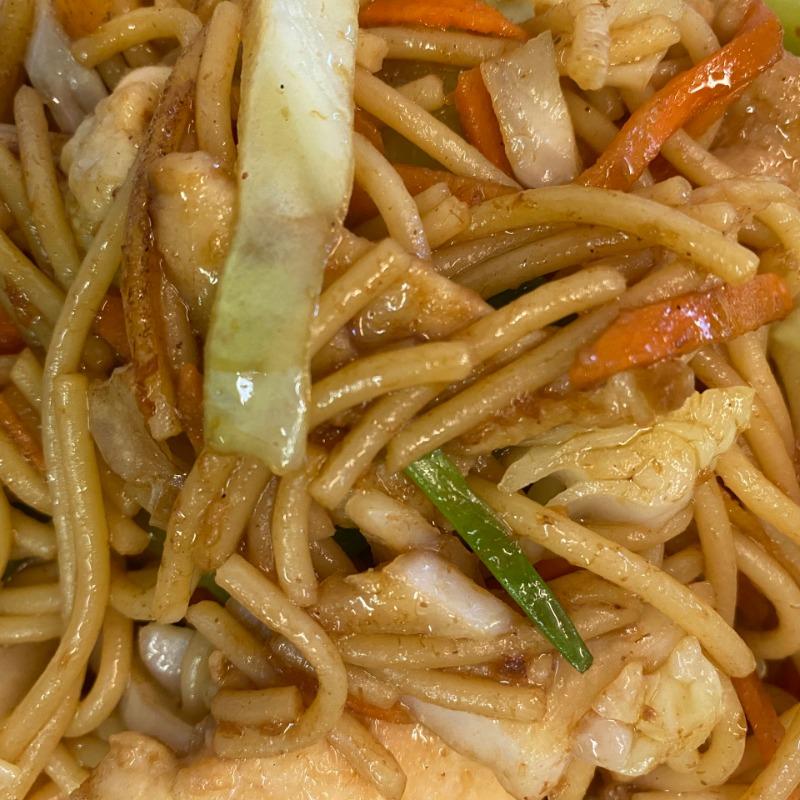 Chicken Lo Mein(鸡捞面)