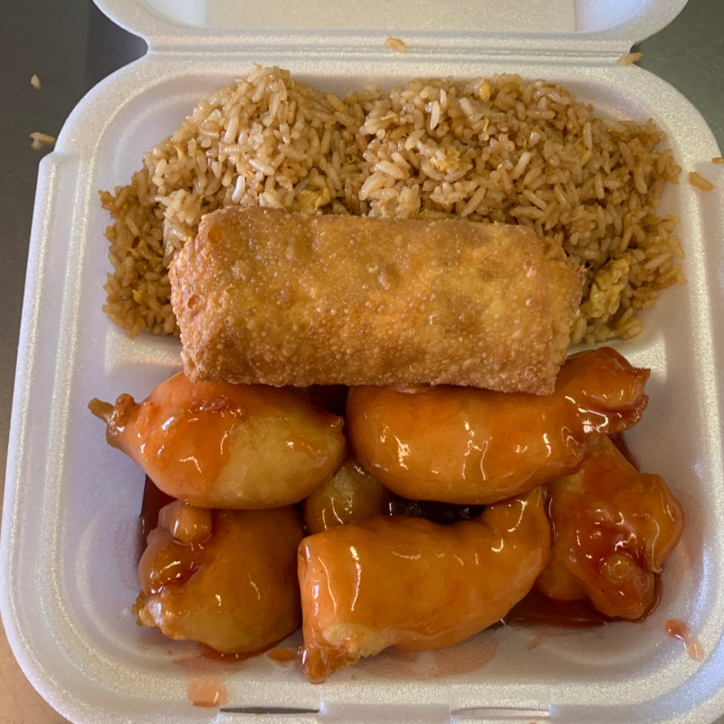 Sweet & Sour Shrimp Lunch(甜酸虾午餐套餐) Image
