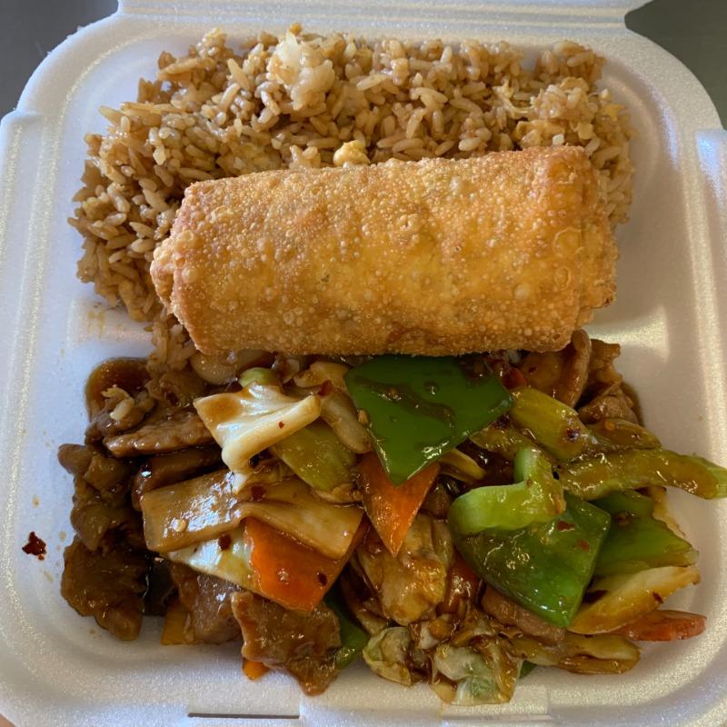 Hunan Beef Lunch(湖南牛午餐套餐) Image