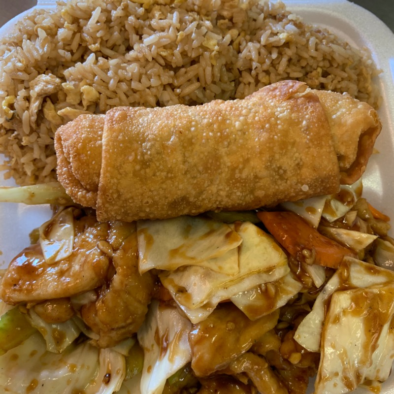 Chicken with Garlic Sauce Lunch(大蒜鸡午餐套餐) Image