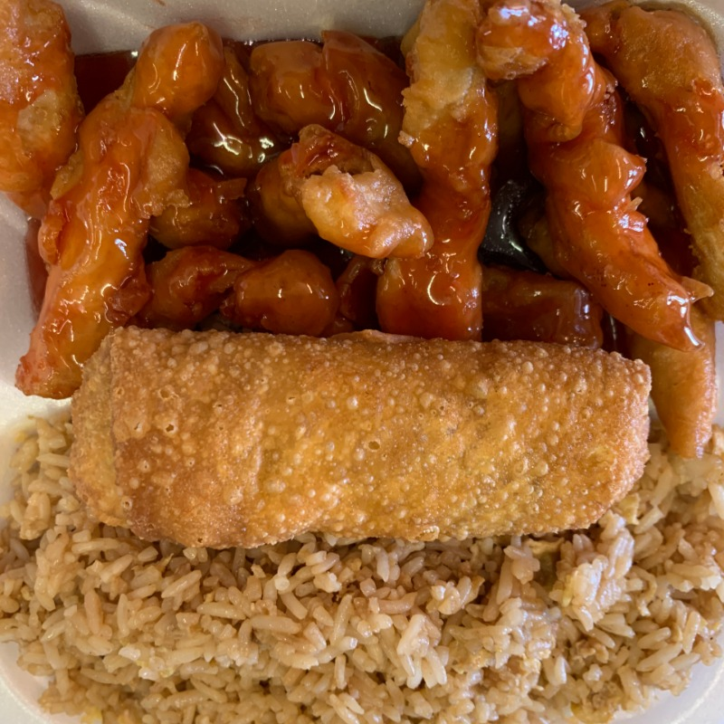 Sweet & Sour Chicken Lunch(甜酸鸡午餐套餐) Image