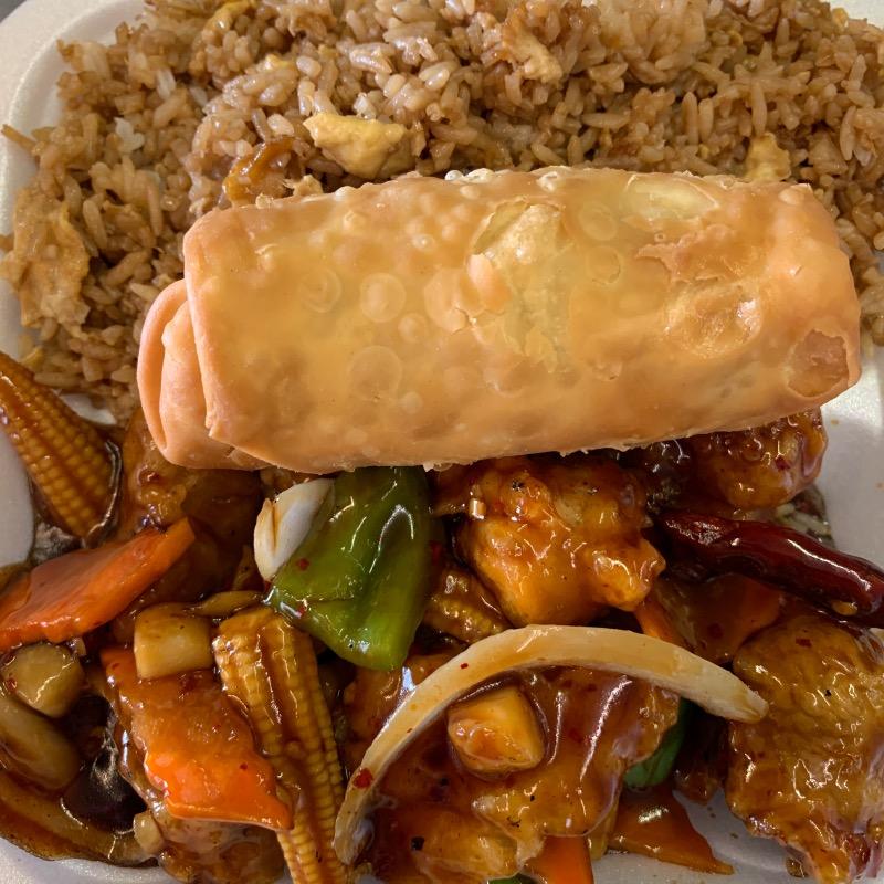 Govener Chicken Lunch(左宫鸡午餐套餐) Image