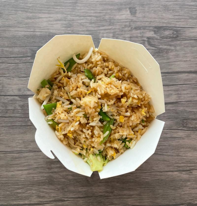 Vegetable Fried Rice(素炒饭)