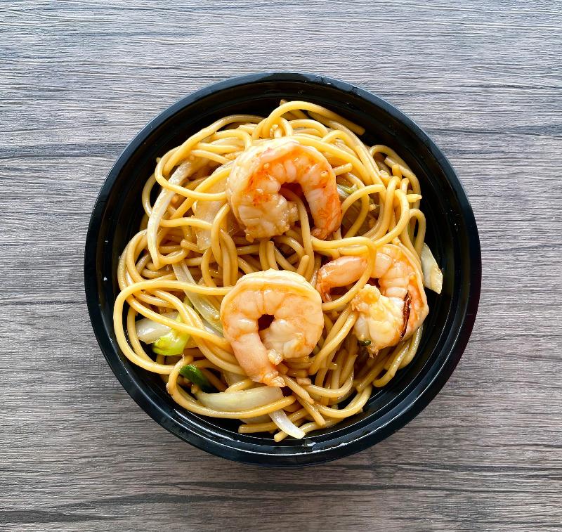 Shrimp Lo Mein(虾捞面) Image