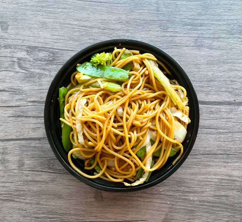 Vegetable Lo Mein(蔬菜捞面) Image