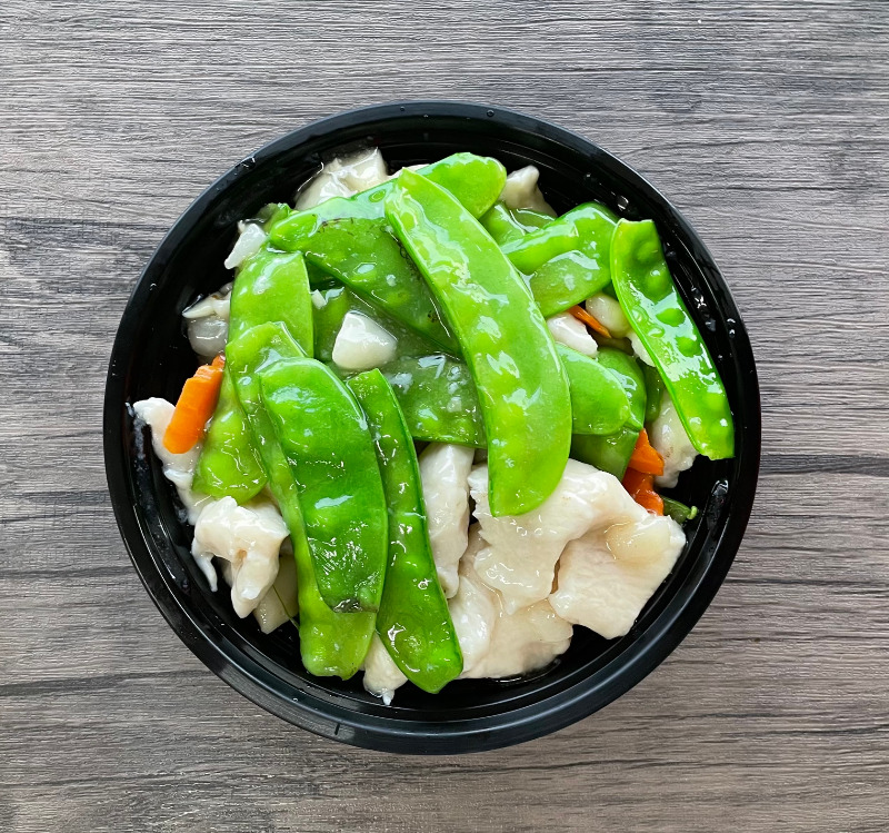Chicken with Peapods(雪豆鸡)