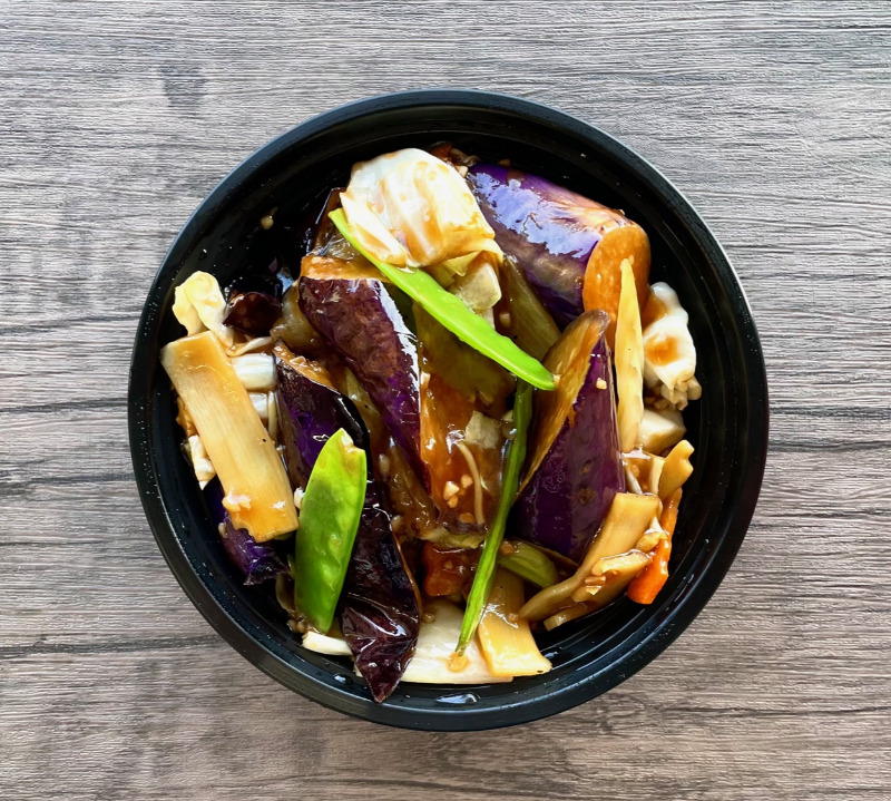 Eggplant in Garlic Sauce(大蒜茄子)