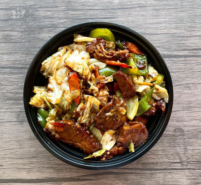 Twice Cooked Pork(美式回锅肉)