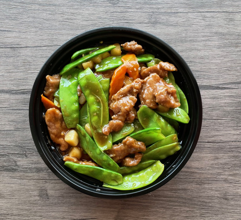 Beef with Peapods(雪豆牛) Image