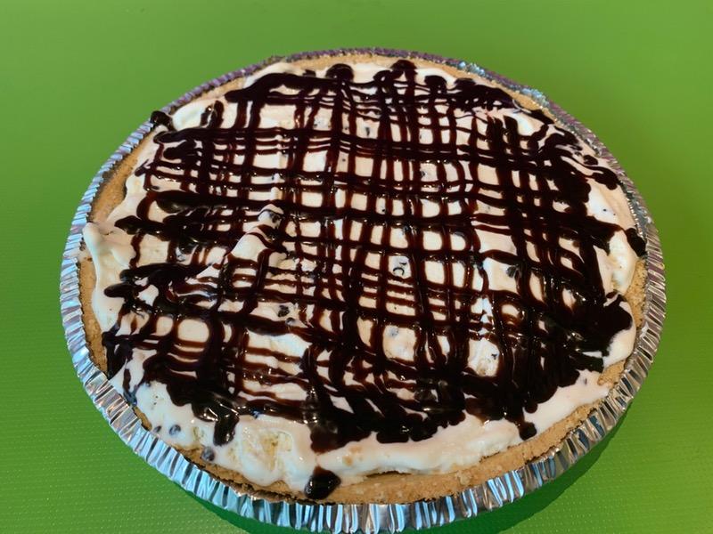 Cannoli Ice Cream Pie