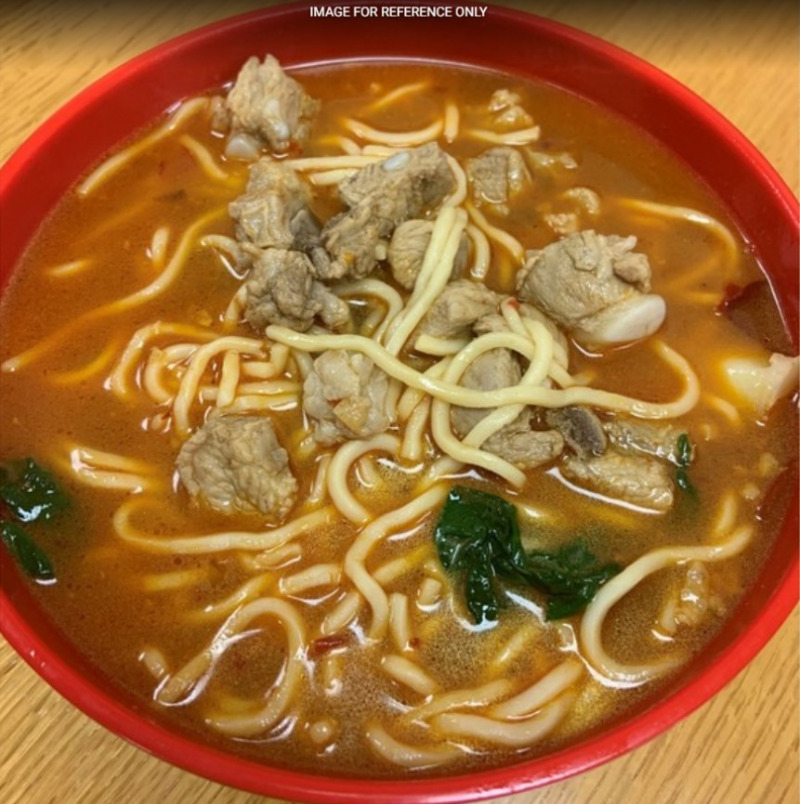 Stewed Pork Spare Ribs Noodle Soup
