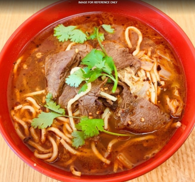 Stewed Beef Noodle Soup