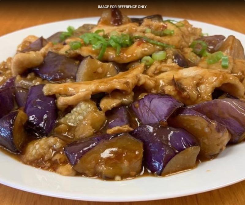 Chicken w. Chinese Eggplant 茄子鸡 Image