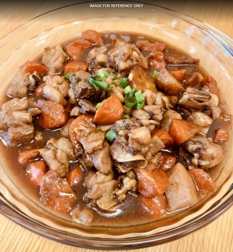 Stewed Chicken w. Carrot & Potato土豆红罗卜炖鸡 Image