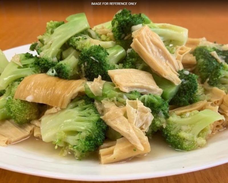Broccoli w. Tofu Stick 芥蓝腐竹 Image