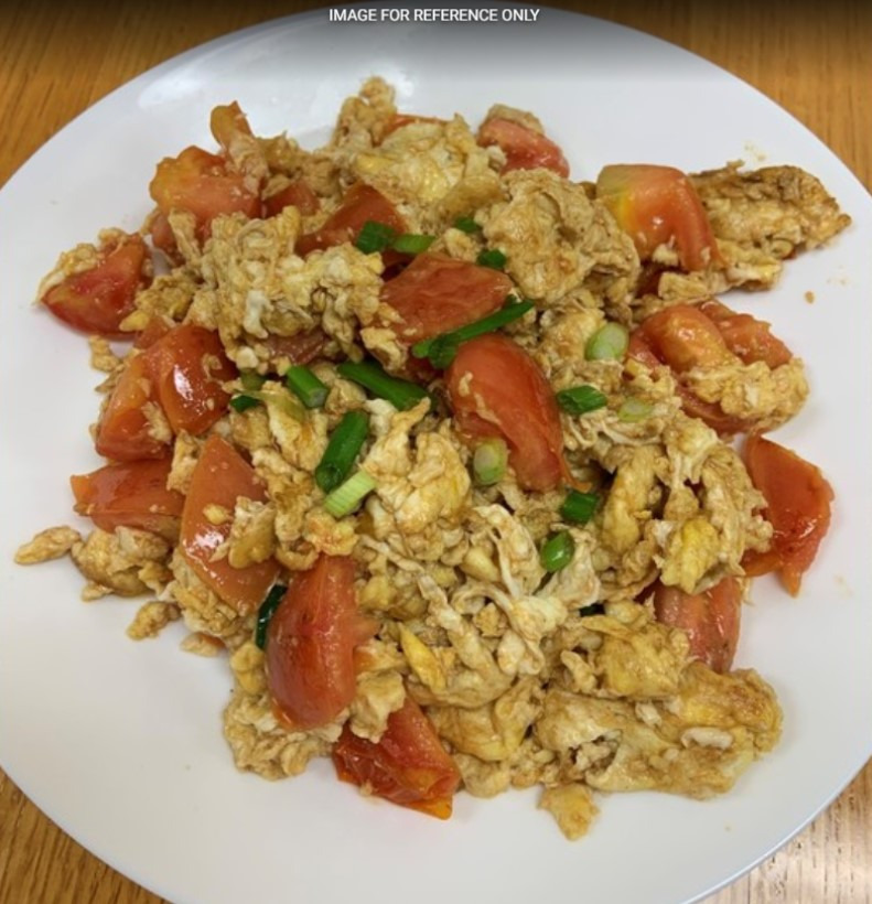 Tomato Scramble Egg 西红柿炒鸡蛋 Image