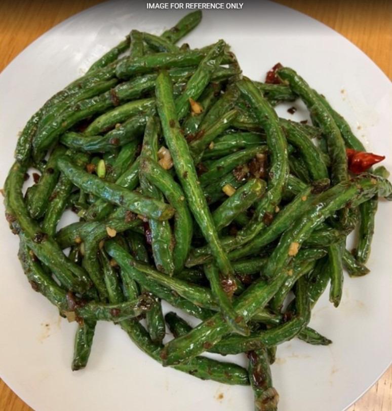 Dry Green Bean Szechuan Style 干煸四季豆