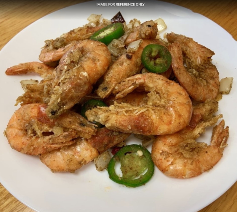 Salt & Pepper Whole Shrimp 椒盐虾 Image