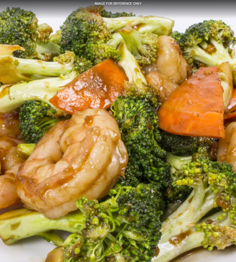 Shrimp w. Broccoli 芥蓝虾 Image