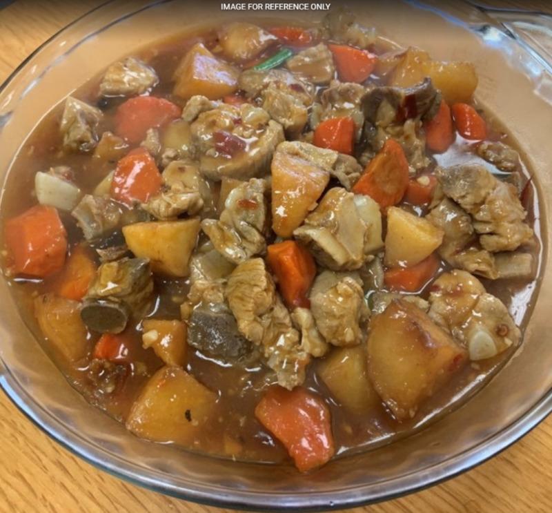 Stewed Pord Ribs W.Potato & Carrot 红烧排骨 Image