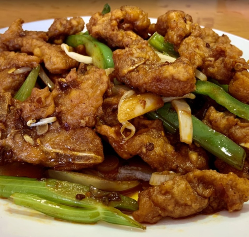 Spicy Pork Chops 辣猪排 Image
