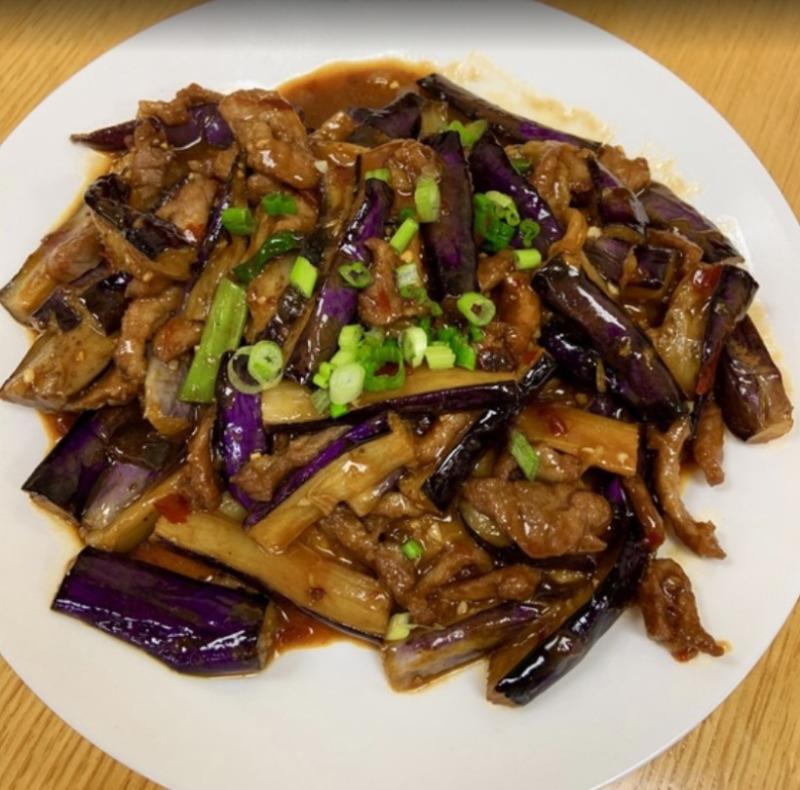 Shredded Pork w. Chinese Eggplant 猪肉茄子