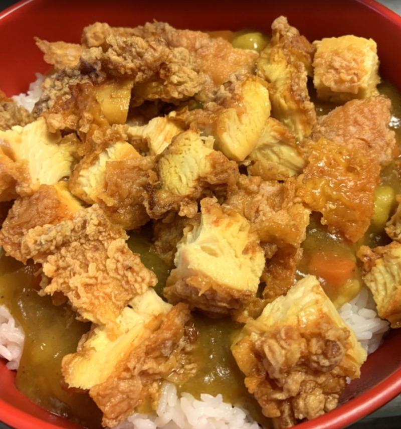 Curry Chicken 咖喱鸡排饭 Image