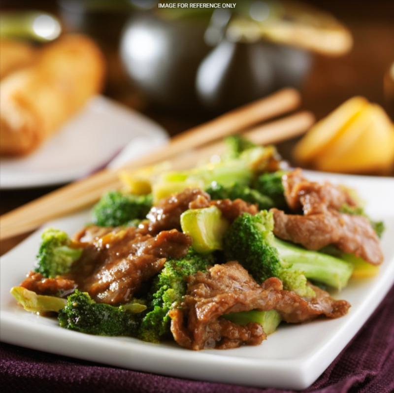 Beef w. Broccoli 牛肉芥兰 Image
