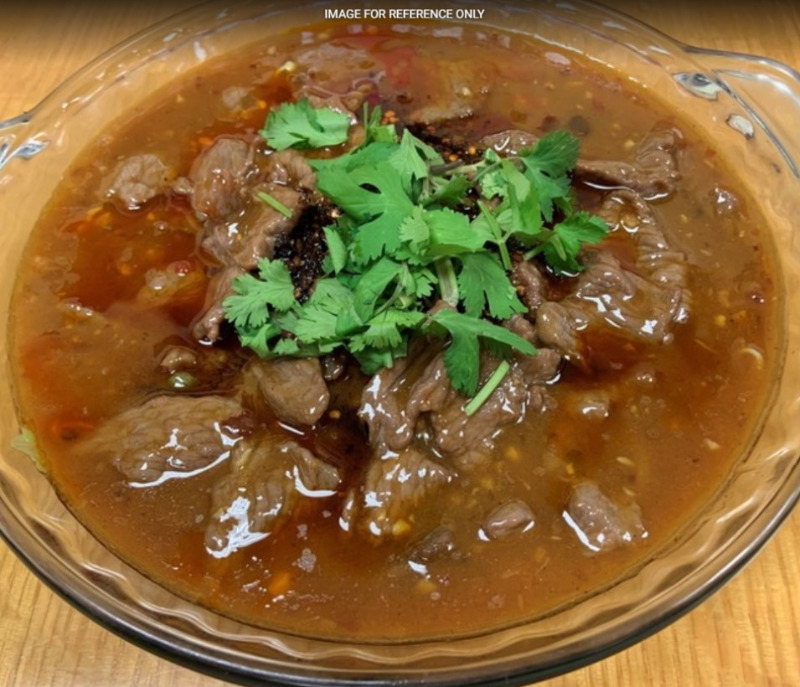 Boiled Beef w. Chili Image