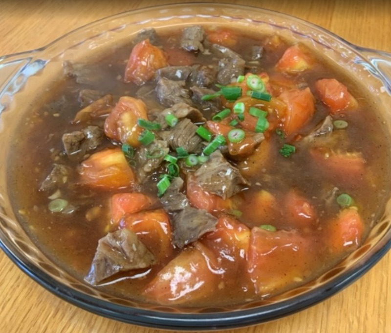 Stewed Beef w. Tomato Image