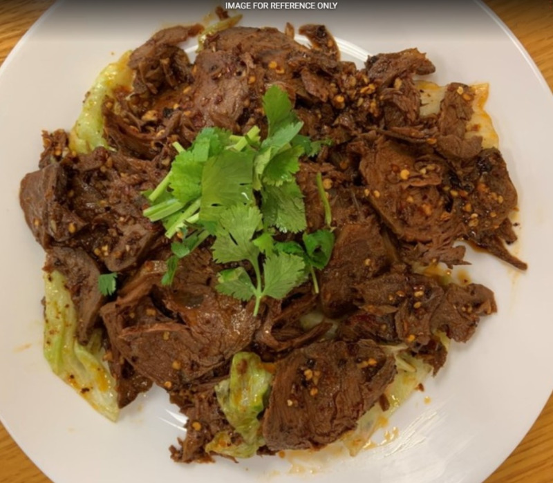 Spicy Cold Beef 凉拌卤牛肉 Image