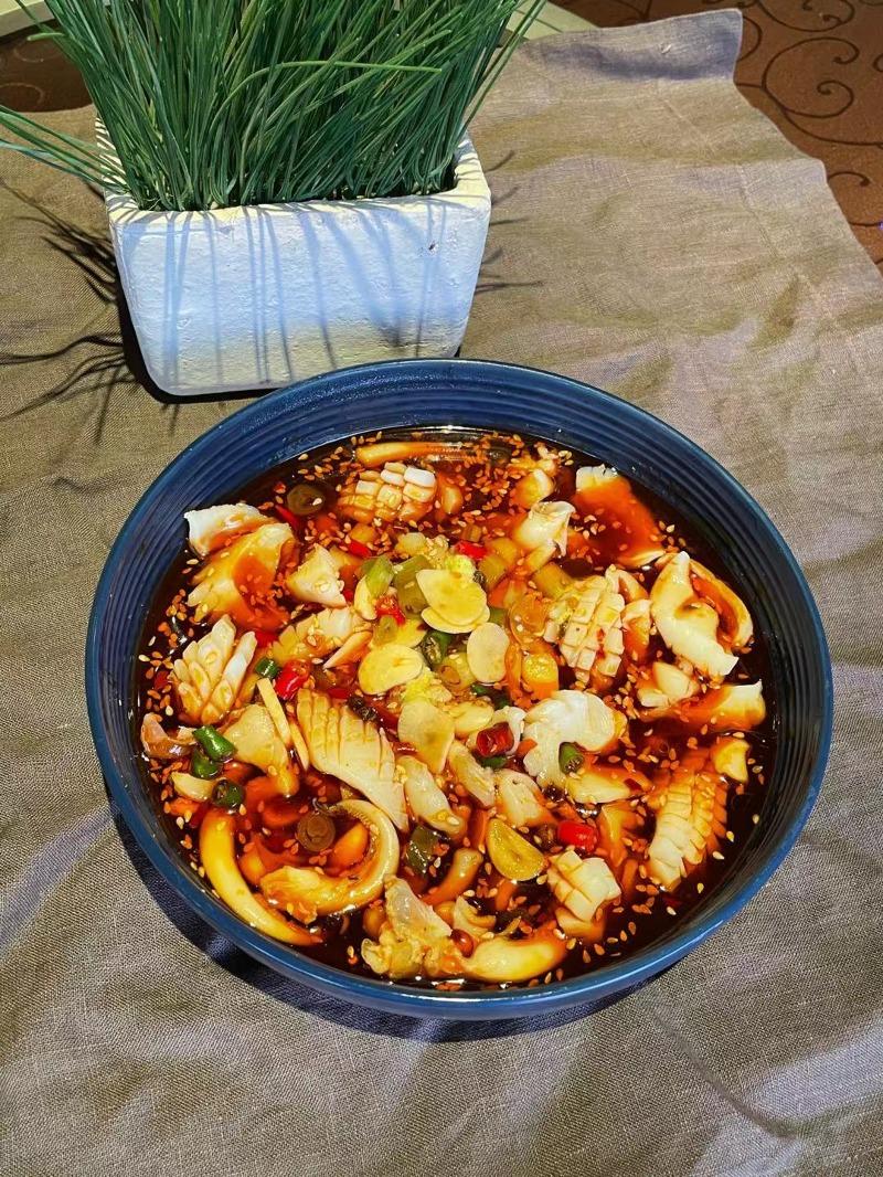捞汁鱿鱼 Lao Zhi Squid Image