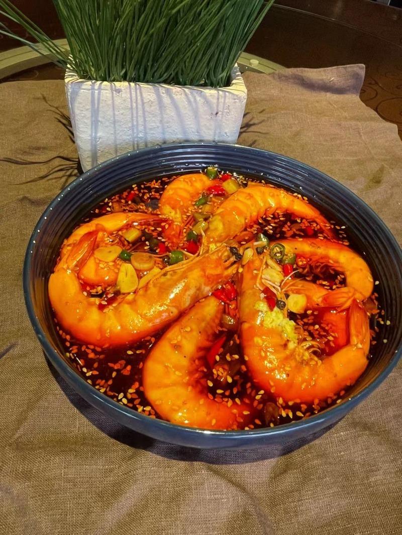 捞汁大虾 Lao Zhi Shrimp