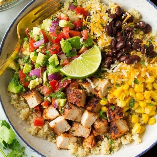 Chicken Burrito Bowl Image