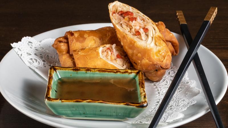 1. Roast Pork Egg Roll Image