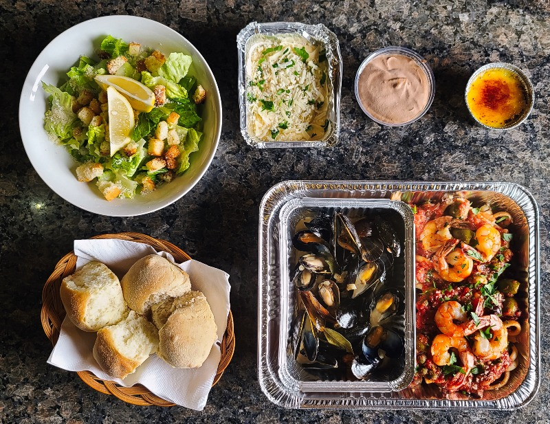 Seafood Dinner for Two Image