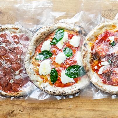 Vegan Sun-Dried Tomato + Mushroom Pizza Image